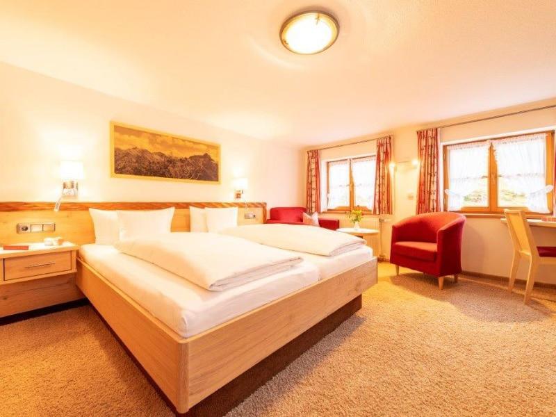 Schlafbereich Typ 2 | Gasthof Bergblick in Riezlern