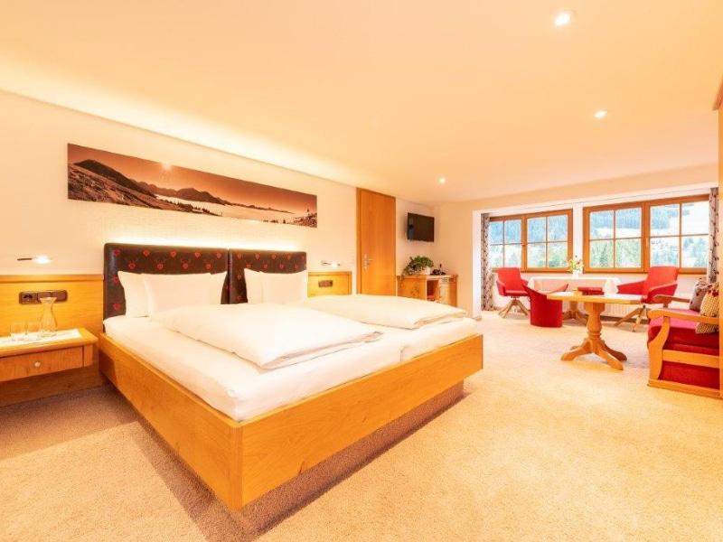 Schlafzimmer Typ 4 | Gasthof Bergblick in Riezlern